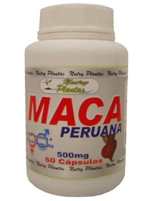 Capsulas de Maca Peruana