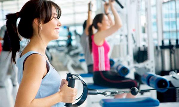 Exercícios de Musculação na Academia