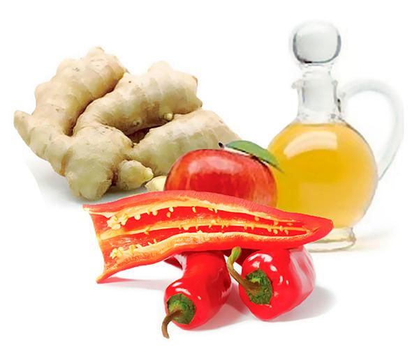 Alimentos Termogenicos lista