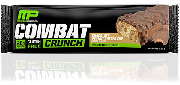 A melhor barra de proteina - Combat Crunch