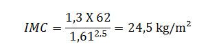como calcular o seu imc ( indice de massa corporal)
