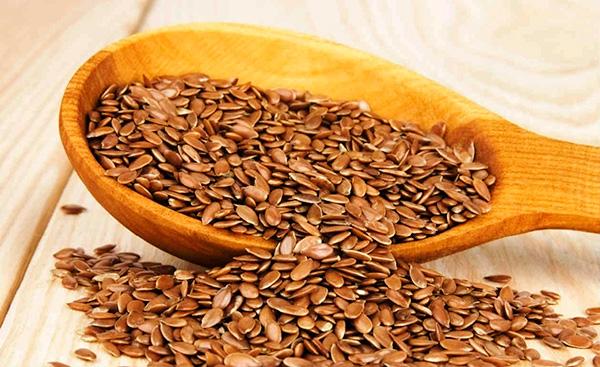 Linhaça alimento que contem omega 3