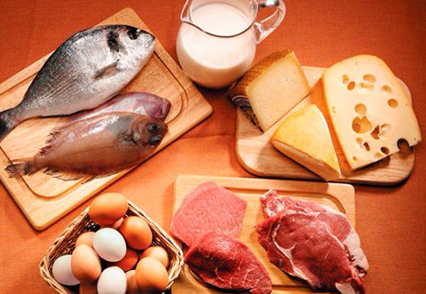 Alimentos com proteina
