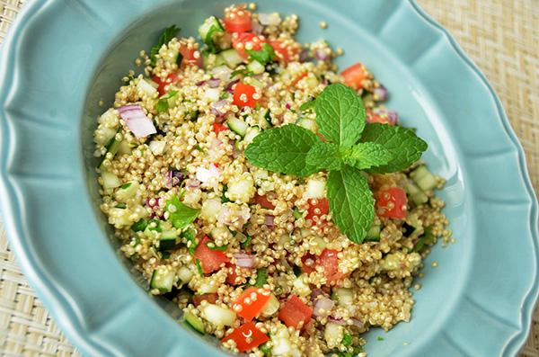 Receita Tabule de Quinoa